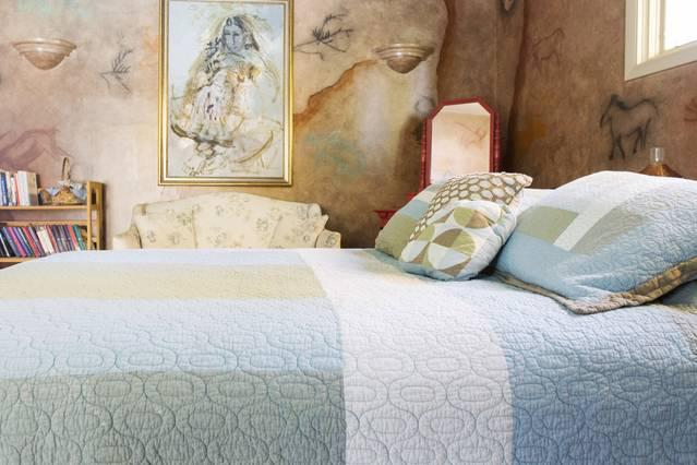 Pressed table cloths