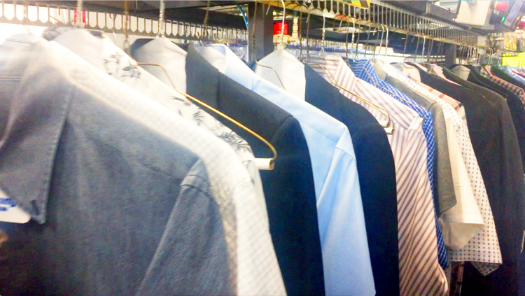 Freshly Pressed Laundry